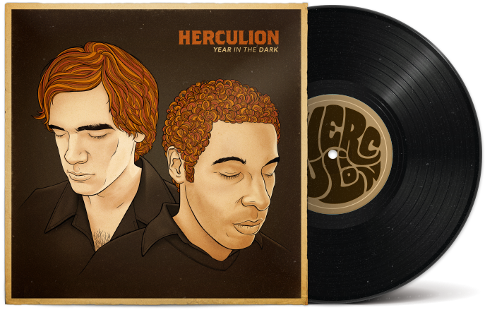Herculion - Year in the Dark Album Art