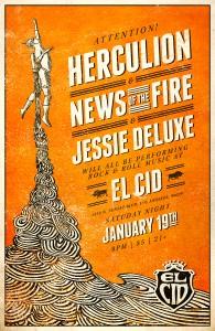 Herculion at El Cid – Saturday January 19, 2013